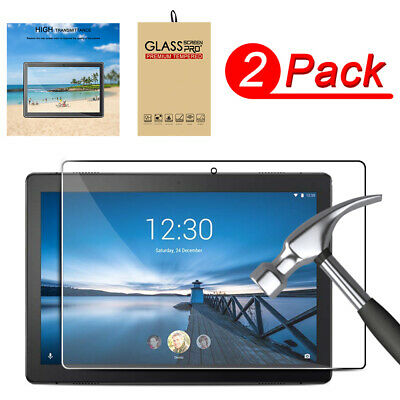 For Lenovo Tab M10/E10/P10 10.1 in 9H Tempered Glass Screen Protecter  HD Clear