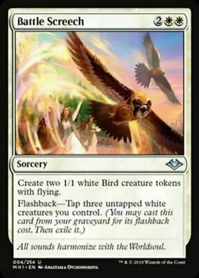 Battle Screech Modern Horizons Magic The Gathering MTG Uncommon NM/M