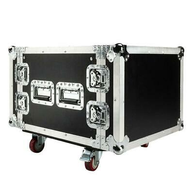 New High Quality 19 Inch Space Rack Case Double Door 8U DJ Equipment Cabinet