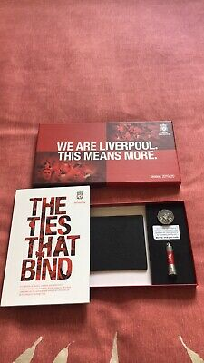 Lfc Liverpool Football Club Gift Pack 2019/20