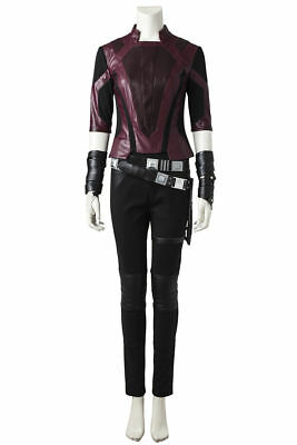 Guardians of The Galaxy 2 Gamora Outfits Fancy Prop Halloween Cosplay Costume