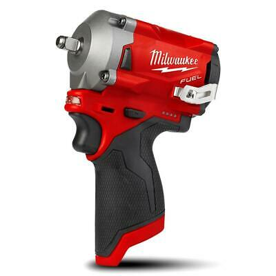"""Milwaukee M12FIW38-0 12V Li-Ion Fuel Cordless 3/8"""" Impact Wrench- Skin Only"""