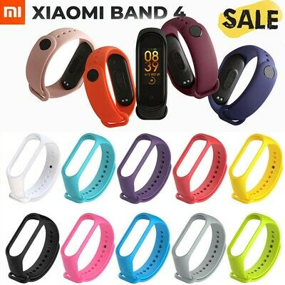 For Xiaomi Mi Band 4 Adjustable Bangle Soft Silicone Strap Wristband Bracelet