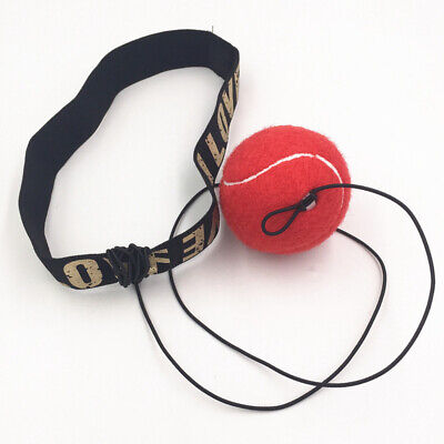 Fight Boxing Ball Equipment With Headband For Reflex Speed Training Boxing  J2F7