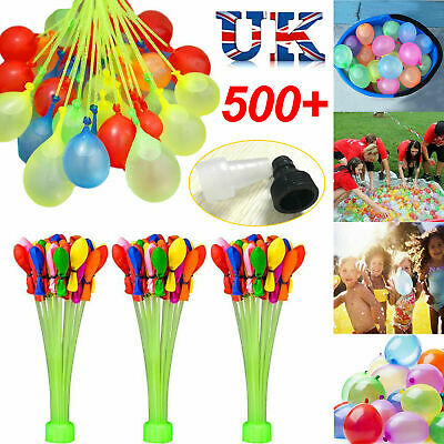 111-1110 PCS Fast Fill Magic Water Balloons Kids Summer Party Fun Toys Party HOT