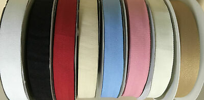HERRINGBONE BUNTING TAPE 25mm (1 inch) ~Various Lengths & Colours~Fast Despatch