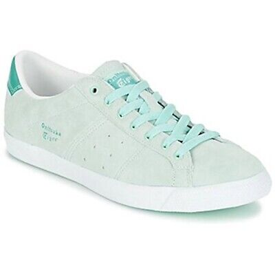 Womens Onitsuka Tiger Lawnship D6K6L 8788 Casual Bay Green Lace Up Trainers