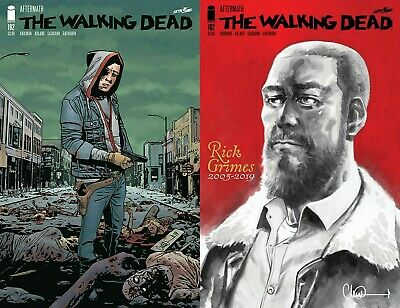 Walking Dead #192 1St & 2Nd Prints Shipped Bagged, Boarded In A Cardboard Mailer