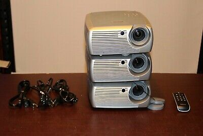 INFOCUS LCD PROJECTOR MODEL X2 (2) and 1 INFOCUS  X1 ,1 Remote, 3 Cords.Lot of 3