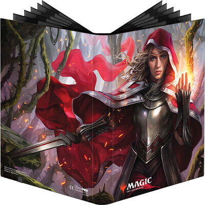 Ultra Pro Magic Gathering Throne Of Eldraine Binder Album For Card Sleeve Box