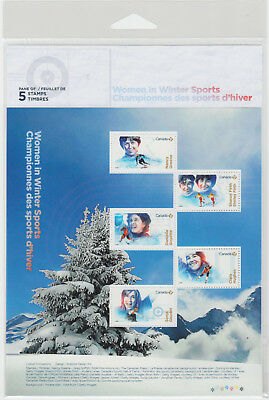 Canada - #3079 Women In Winter Sports Stamp Pane  - MNH