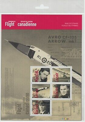 Canada - *NEW* Canadians In Flight Stamp Pane  - MNH