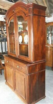 Glazed bookcase, mahogany buffet, antique french dresser,display case, china
