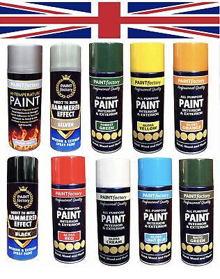 ALL Purpose Household Spray Paint For Interior And Exterior Metal Wood Plastic