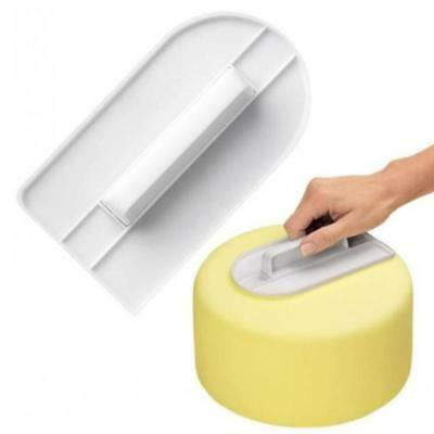 Cake Smoother Fondant Shaping Polisher Decorating Icing Mold Kitchen Baking Tool