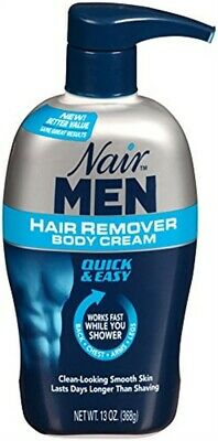 Nair Men Hair Removal Body Cream 13 oz (368 g)  Pack of 5