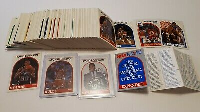 1989-90 NBA Hoops Basketball 1-200 You Pick UPick From List Lot To Complete Set