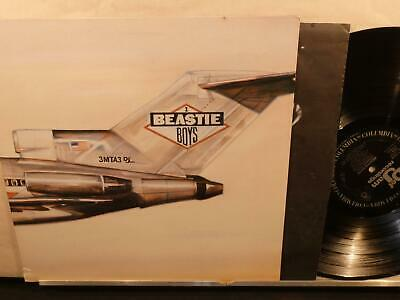 Beastie Boys: Licensed to Ill (M- 1986 1st Def Jam FC-40238 LP) gatefold