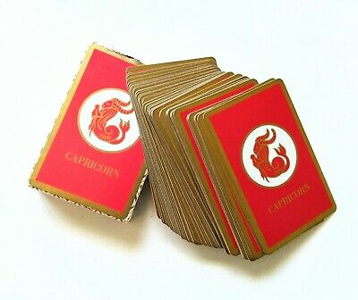 Capricorn Playing Cards Deck Horroscope Themed Cards Complete Deck
