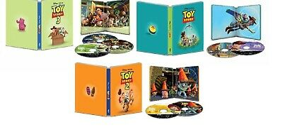 Toy Story Trilogy 4K Steelbooks (UHD + Blu-ray + Digital copy)  BRAND NEW!!