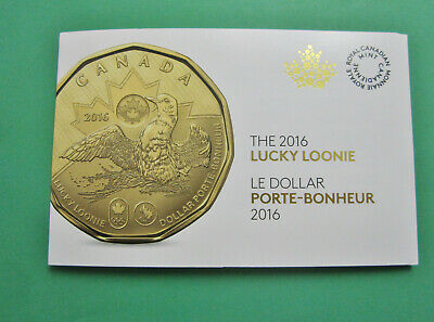 Canada 2016 $1 Lucky Loonie 5-pack Olympic Dollar Sealed in original Mint pack