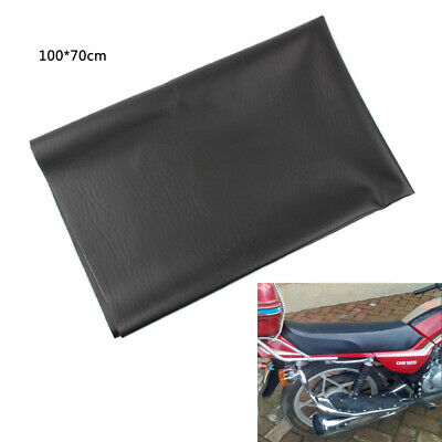 Motorcycle Cushion Seat Skin Replacement Faux Leather 100*70cm