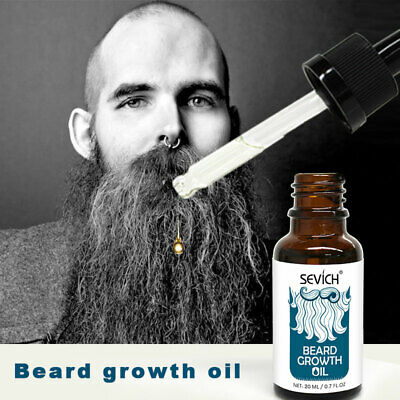 20ml Hair Thicker Beard Oil Sevich Men Beard Mustache Boost Growth Liquid Oil