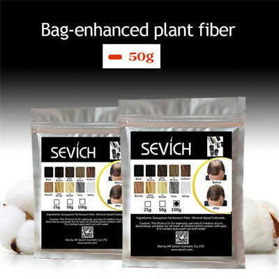 Sevich Natural Keratin Hair Building Fibers Refill 50g For Hair Loss & Balding