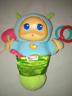 PLAYSKOOL Glow Worm Soft Lights & Soothing Sounds & Soft Light
