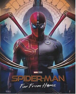 Marvel Spider-Man Far From Home Iron Spider Stealth Suit Poster Odeon Official