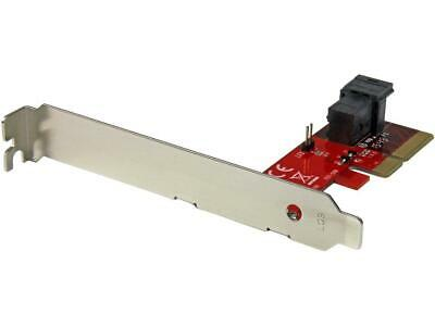 StarTech.com x4 PCI Express to SFF-8643 Adapter for PCIe NVMe U.2 SSD Model PEX4