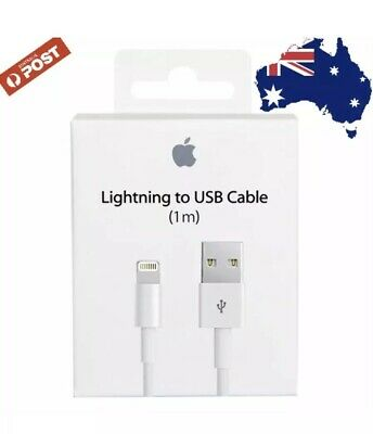 1M Genuine Original Lightning Data Charger Cable For Apple iPhone 7 Plus 6 5 S 8