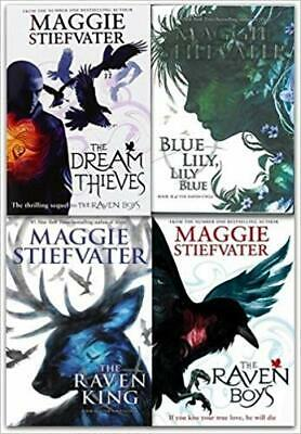 Raven Cycle Series Collection 4 Books Set By Maggie Stiefvater (Ebooks)