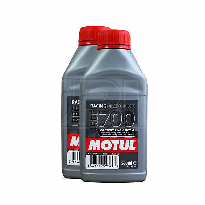 Motul RBF 700 Factory Line Racing Brake Fluid - 2 x 500ml 1L