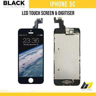 New Replacement LCD Touch Screen Digitizer Display Screen For iPhone 5c Black