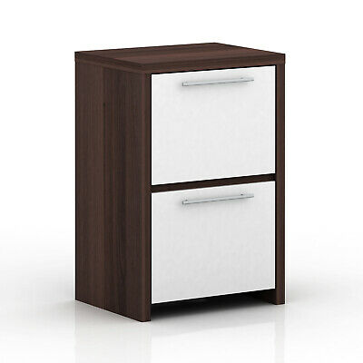 Coco 2 Drawer Filing Cabinet Walnut Oak