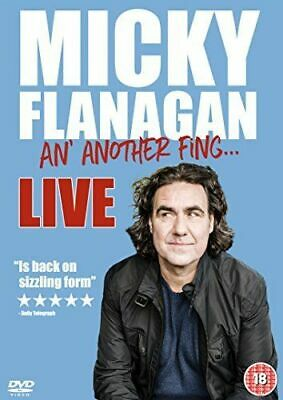 Micky Flanagan: An' Another Fing..Live Dvd Brand New & Factory Sealed