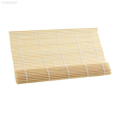 Bamboo Sushi Mat Onigiri Rice Roller Rolling Maker Tool for Kitchen Home 12DB
