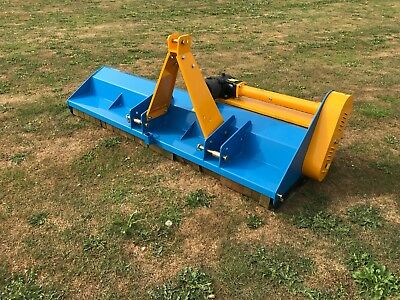 Tractor mounted Flail mower EF 1.75m wide offset mower  VAT inc FREE DELIVERY