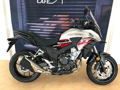 Honda CB500X ABS 68 REG,SILVER,UNUSED,1 ONLY AT THIS PRICE