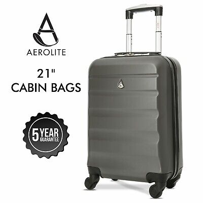 Aerolite Ryanair Cabin Luggage Suitcase Lightweight Hand Luggage Bag Hard Shell