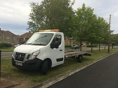 2015 Nissan Nv400 Recovery  Truck/Car Transporter 1 Owner 85,000 Miles Only.