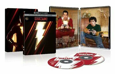 Shazam! [SteelBook] [4K Ultra HD Blu-ray/Blu-ray] New July 16, 2019