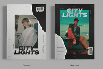 "K-POP EXO BaekHyun 1st Mini Album ""City Lights"" [ 2 PHOTOBOOK + 2 CD ] SET"