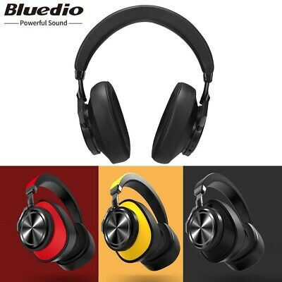 Bluedio T6S Bluetooth Headphones Wireless Noise Cancelling ANC Headset With Mic