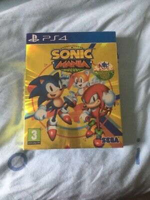 Sonic Mania Plus Ps4 Neuf sous blister