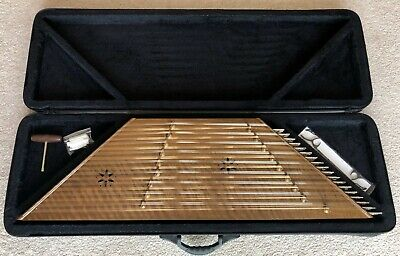 High Quality Persian Santoor Santour Dulcimer With Hard Case and Accessories