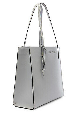 Marc Jacobs The Grind  Leather Top-Handle Large Bag Color: Ghost Grey ~ NWT