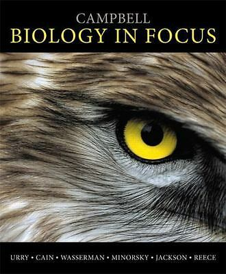 Campbell Biology in Focus by Peter V. Minorsky - Hardcover (First Edition)