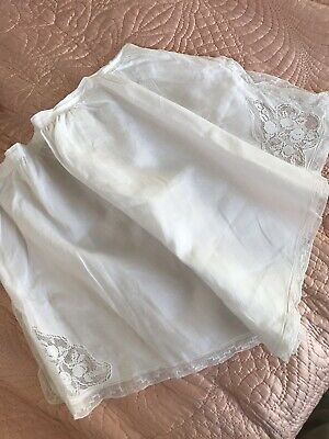 Vintage Edwardian Lace And Linen Bloomers